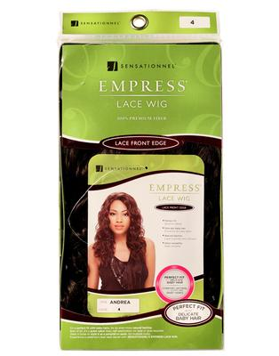 Sensationnel Empress Synthetic Lace Front Edge Wig - Andrea