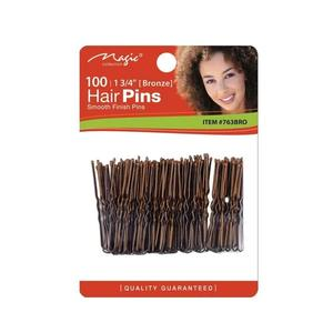 Magic Collection 100 Hair Pins - 763bro