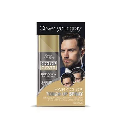 Cover Your Gray Mens Color Cover Hair Color Touch Up Spray