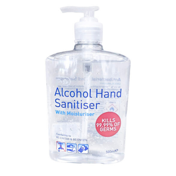 Hand Sanitizer Alcohol With Moisturiser 500ml