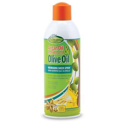 Sof N' Free Gro Healthy Argan & Olive Nourishing Sheen Spray