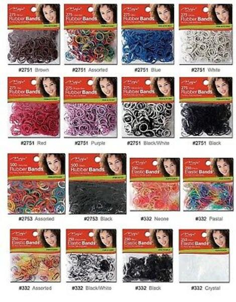 Magic Collection 275 Rubber Bands Purple - 2751