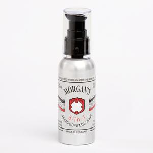 Morgans 3 In 1 Shampoo, Wash & Shave