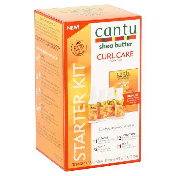 Cantu Shea Butter Curl Care Starter Kit
