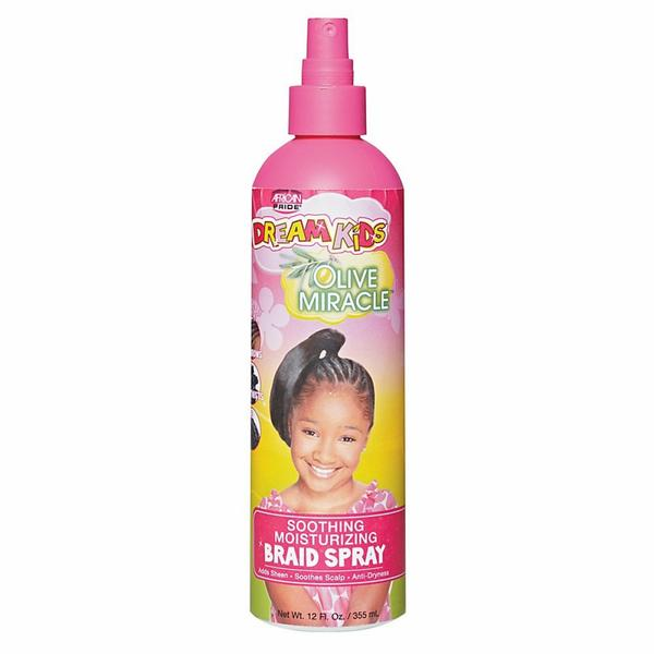 African Pride Dream Kids Soothing Moisturizing Braid Spray
