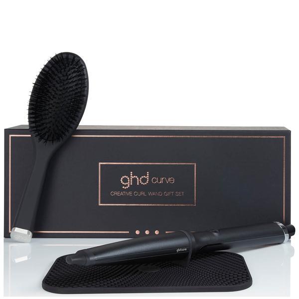 Ghd Curve Creative Curl Wand Gift Set + Oval Brush & Heat Mat
