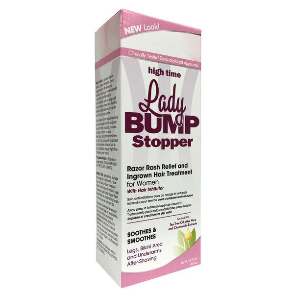 High Time Lady Bump Stopper Razor Rash Relief And Ingrown Hair Treatment