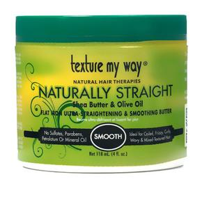 Texture My Way Naturally Straight Flat Iron Ultra-straightening & Smoothing Butter