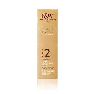 Fair & White Gold Even Tone Revitalizing Fade Cream