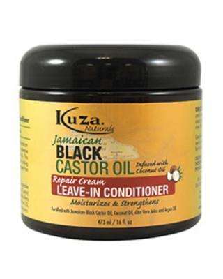 Kuza Naturals Jamaican Black Castor Oil Repair Cream Leave In Conditioner