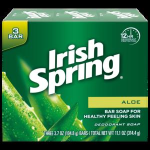 Irish Spring Aloe Bar Soap (pack Of 3)
