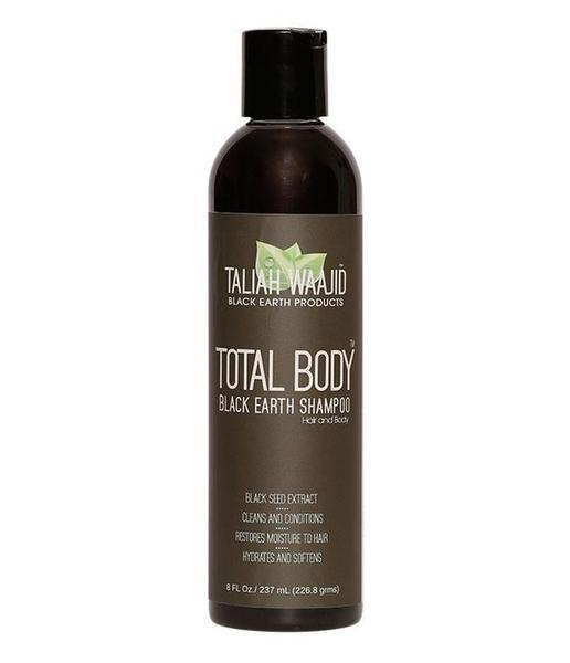 Taliah Waajid Total Body Natural Black Earth Shampoo