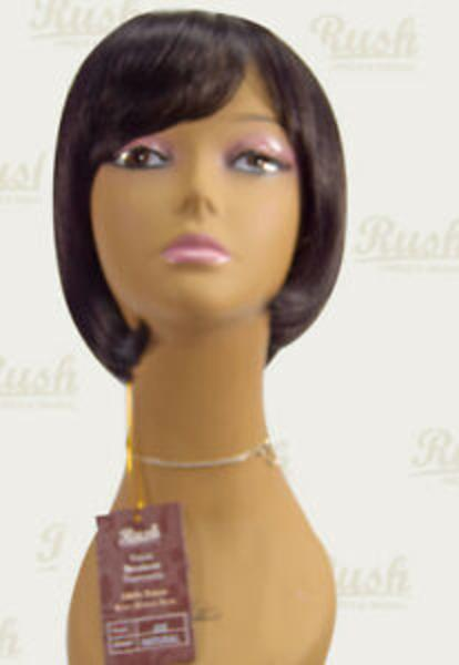 Rush Brazillian Human Hair Lace Wig Short Bob