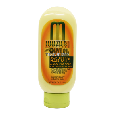 Mazuri Olive Oil Texturizer Softening Hair Mud