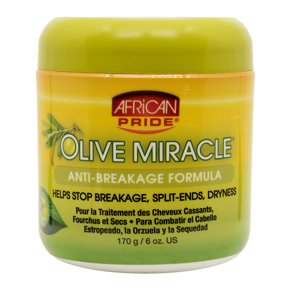 African Pride Olive Miracle Anti-breakage Creme