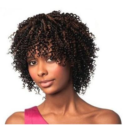 Sleek Crazy 4 Curls 100% Human Hair Afro Kinky Weave 3pcs 8''