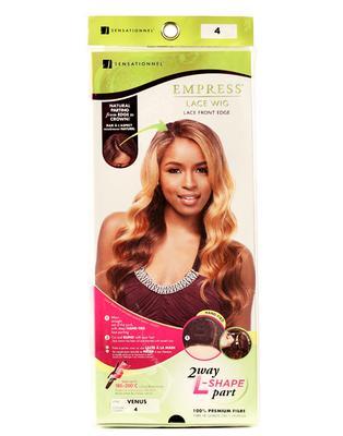Sensationnel Empress Synthetic Lace Front Edge Wig - Venus