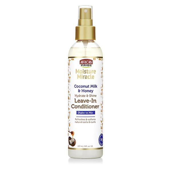 African Pride Moisture Miracle Coconut Milk & Honey Leave-in Conditioner