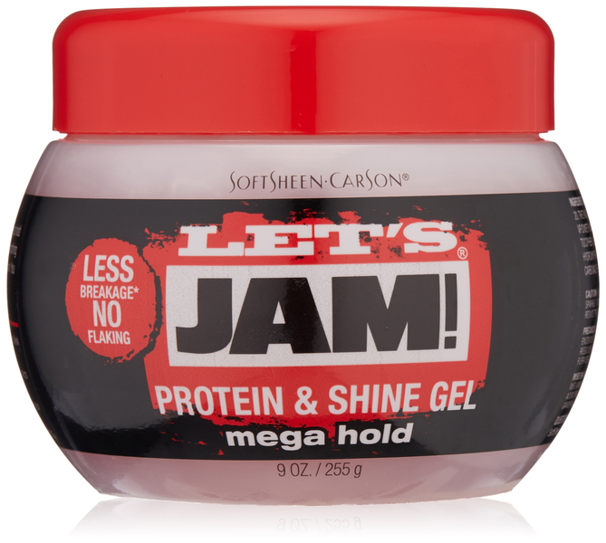 Let's Jam Protein & Shine Gel Mega Hold