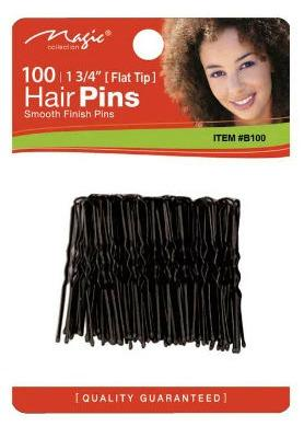 Magic Collection 100 Hair Pins - 763blk