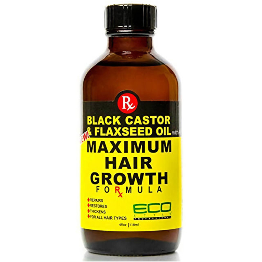 Ecoco Black Castor & Flaxseed Oil Maximum Hair Growth Formula