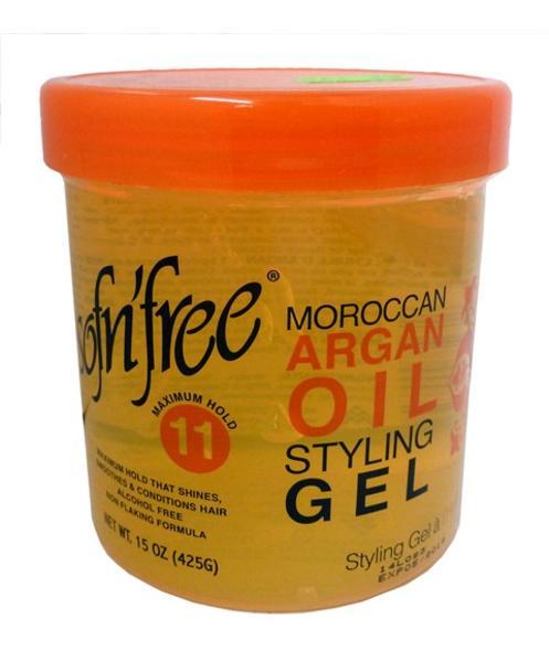 Sof N Free Moroccan Argan Oil Styling Gel