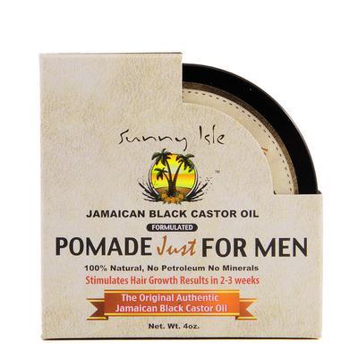 Sunny Isle Jamaican Black Castor Oil Pomade For Men