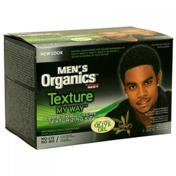 Texture My Way Men's Comb Thru Crème Texturizing Kit