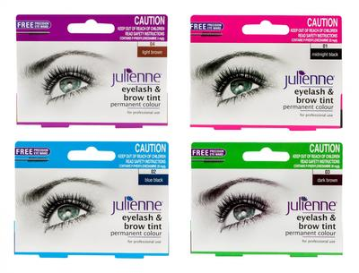 Julienne Eyelash And Brow Tint Permanent Colour