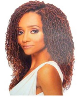 Sleek Synthetic Fashion Idol Sisterlocks Twist 14''
