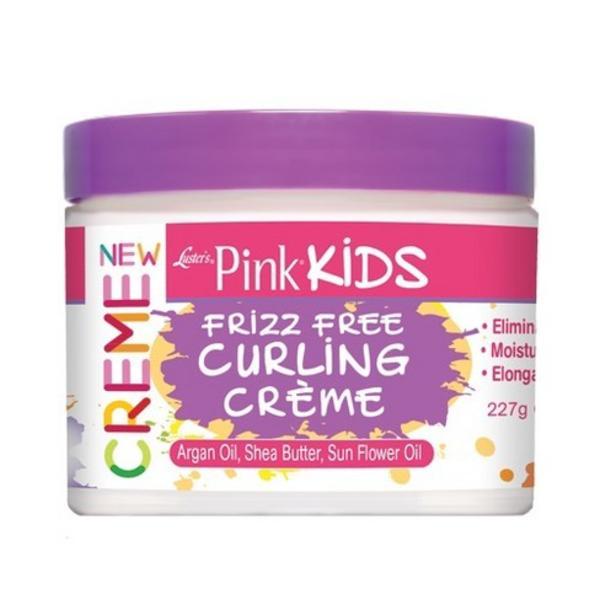 Luster's  Pink Kids Frizz Free Curling Creme