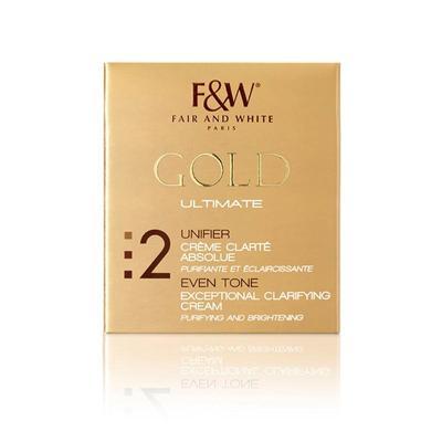 Fair & White Gold Exceptional Clarifying Cream