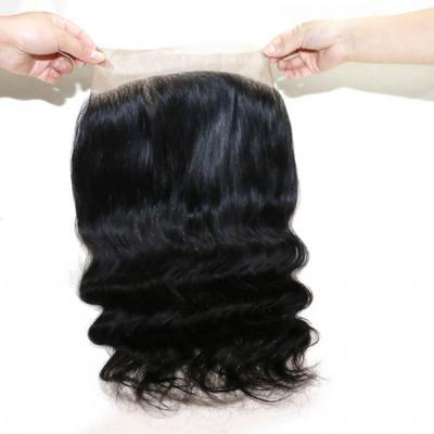 Rush Brazillian Temptation Middle Part Closure Body Weave 12'' - 4 X 4