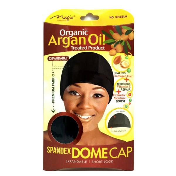 Magic Collection Women's Organic Argan Oil Treated Dome Cap ( 3016 )