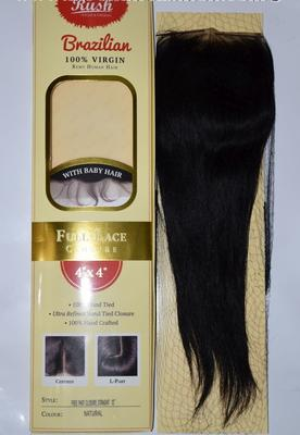 Rush Brazillian Full Hand Tied Closure