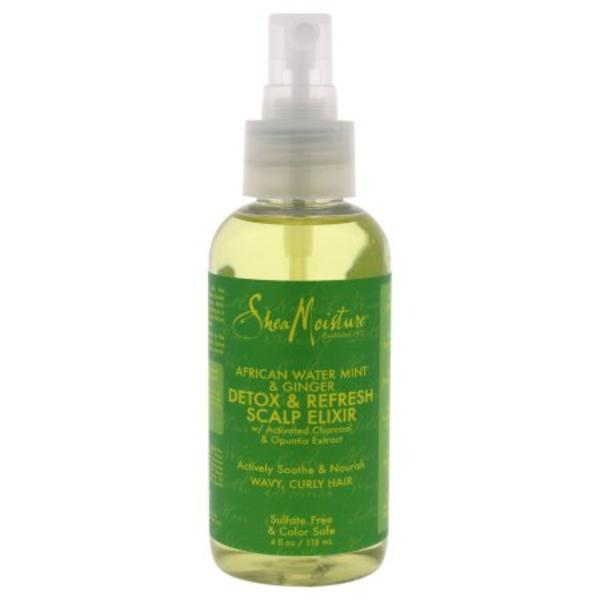 Shea Moisture African Water Mint & Ginger Detox & Refresh Scalp Elixir