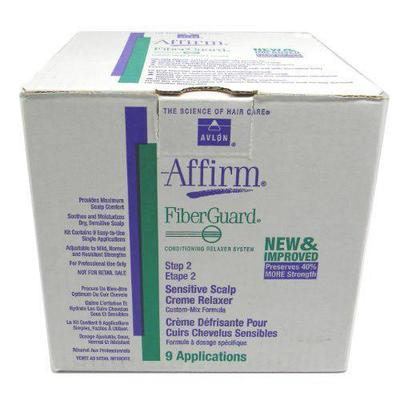 Avlon Affirm Sensitive Scalp Relaxer (step 2) - 9application