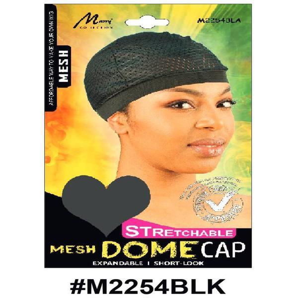Murry Mesh Dome Cap Black - M2254blk