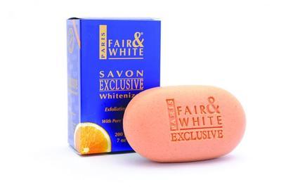 Fair & White Exclusive Whitenizer Exfoliating Soap With Vitamin C