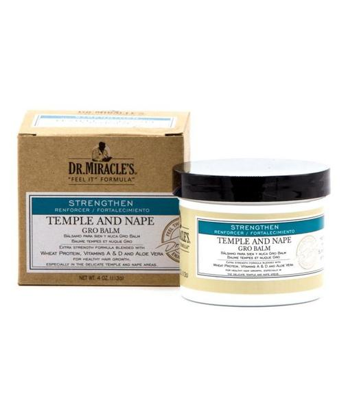 Dr Miracles Temple And Nape Grow Balm 4oz