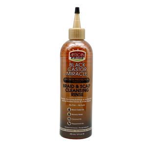 African Pride Black Castor Miracle Braid & Scalp Cleansing Rinse