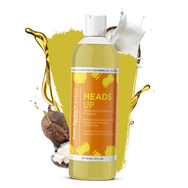 Aunt Jackie's Heads Up Moisturizing & Softening Shampoo