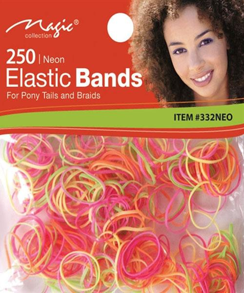 Magic Collection 250 Elastic Bands Neone - 332