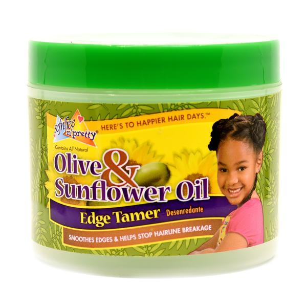 Sof N' Free N' Pretty Olive & Sunflower Edge Tamer