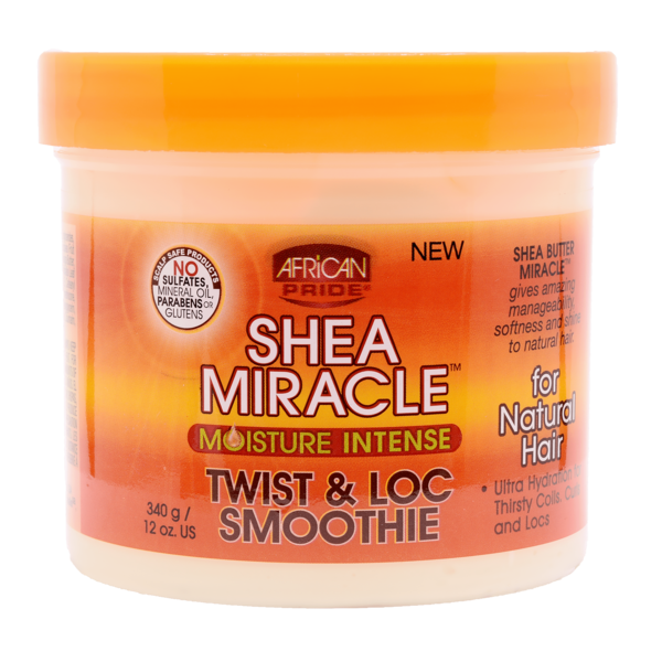 African Pride Shea Butter Miracle Twist & Loc Smoothie