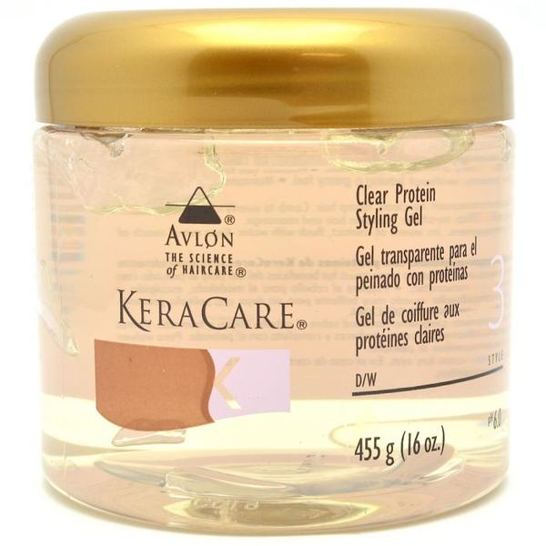 Keracare Clear Protein Styling Gel 455g(16oz)