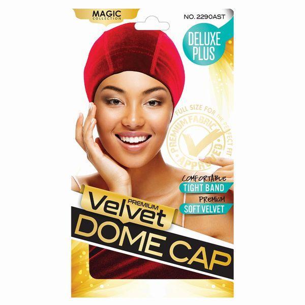 Magic Collection Velvet Dome Cap - 2290ast