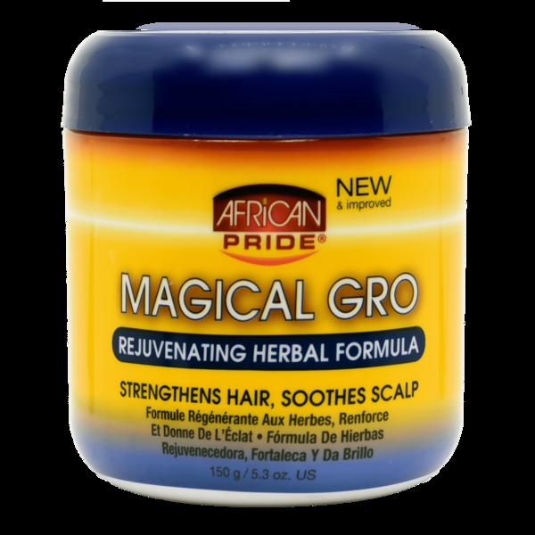 African Pride Olive Miracle Magical Gro Rejuvenating Oil Formula