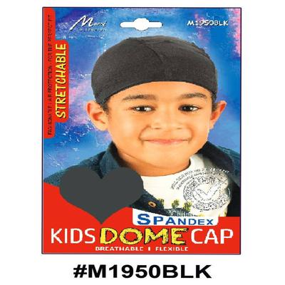Murry Kids Dome Cap Black - M1950blk