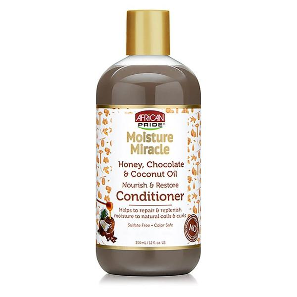 African Pride Moisture Miracle Honey Chocolate & Coconut Oil Conditioner